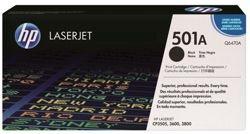 Hewlett Packard [HP] nº 501 A cartucho de tóner láser 6000pp negra Q6470A