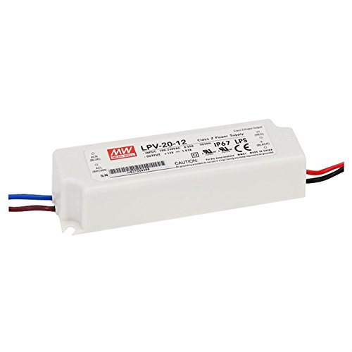 LED Netzteil 20W 24V 0,84A ; MeanWell, LPV-20-24 ; Schaltnetzteil