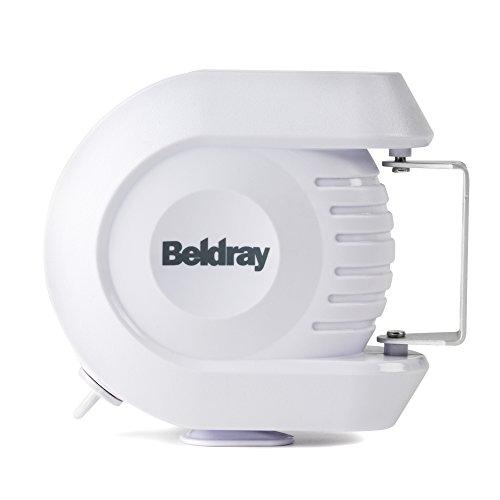 Beldray LA026996, 12Metros Cuerda de Tender retráctil BeldrayLA026996EU para Uso en Exteriores e Interiores, Blanco