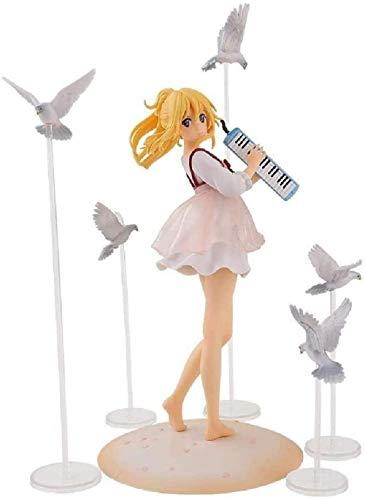 NoNo Miyazono Kaori April ist Ihr Lietone-Klavier Tägliche Uniform Freizeitkleidung Palace Garden Scent Model Weibliche Geschenkskulptur Spielzeugdekoration Bastelstatue