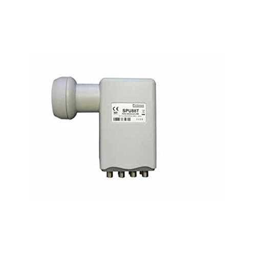 Preisner spu88t Low Noise Block (LNB Low Noise Block (Frequenz)–abaisseurs Konverter Frequenz Konverter abaisseur) (anthrazit)