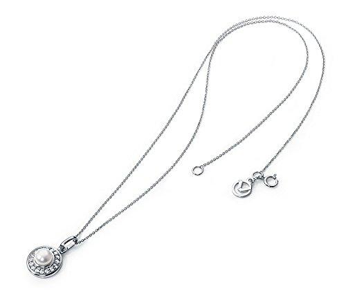 Gargantilla Plata Señora Viceroy con perla y circonitas 7034C000-30