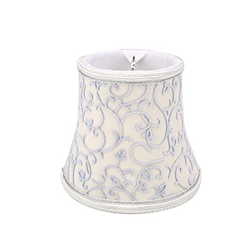 Tulipa de lámpara Lámpara de la lámpara de la lámpara de la lámpara europea de la vendimia Luces de la lámpara de la lámpara de cristal de la lámpara de cristal Hogar&Living Cover Fitting Cafe