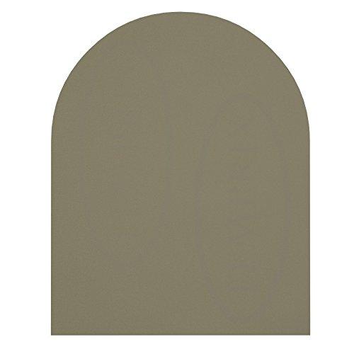 Temprix Kaminbodenplatte Funkenschutzplatte - Bodenplatte Glas & Metall - Glasscheibe - Größte Auswahl an Glasbodenplatte und Metallbodenplatte - Glasplatte und Metallplatte für Kamin und Ofen