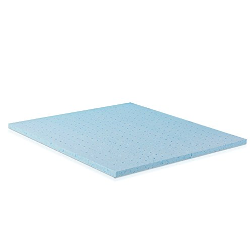 Furinno Angeland 2-Inch Gel Infused Memory Foam Mattress Topper, King FUR1526255K
