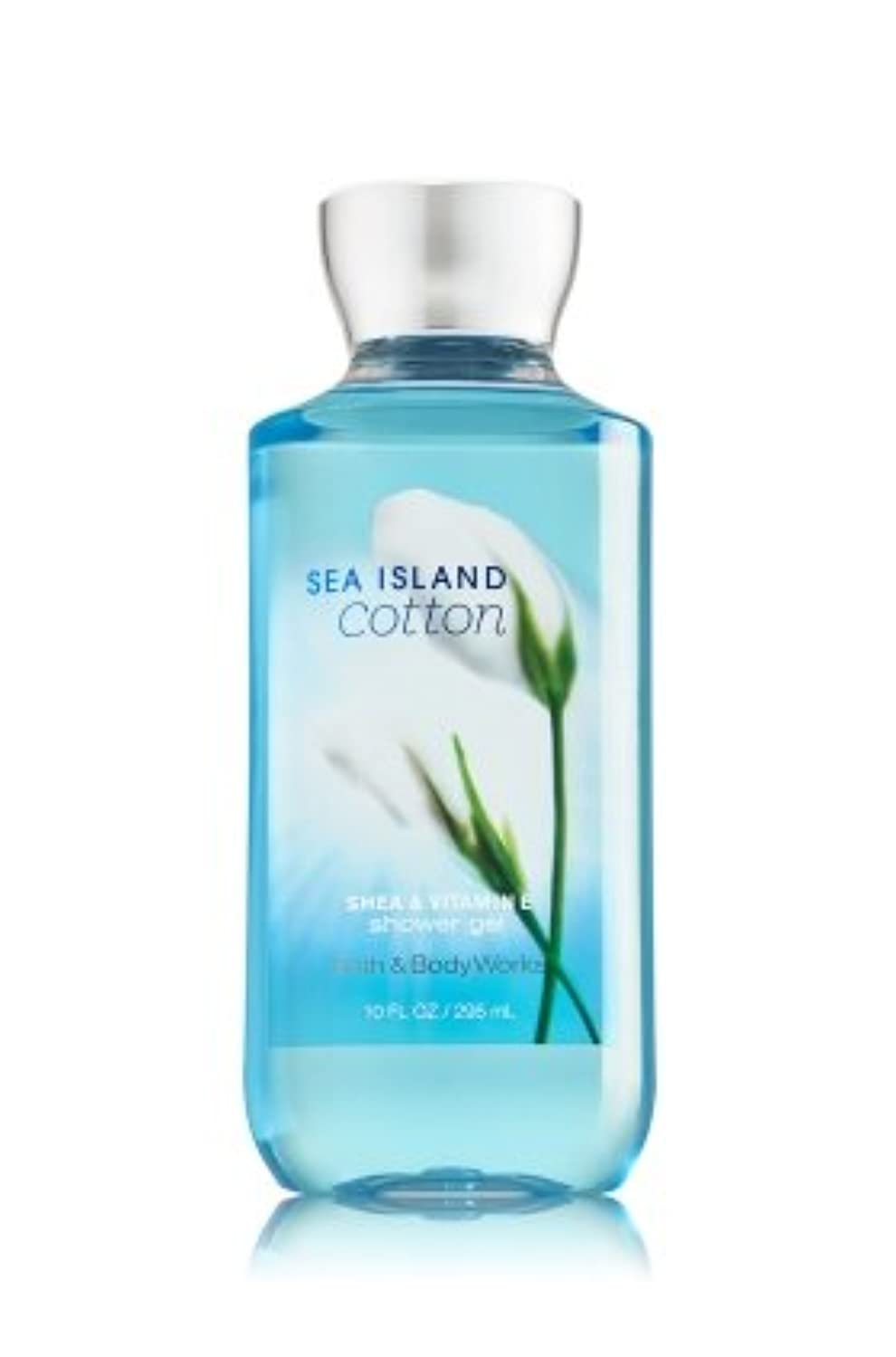 パフ最終的に勘違いするBath & Body Works  シャワージェル-Sea Island Cotton*???????? ????【並行輸入品】