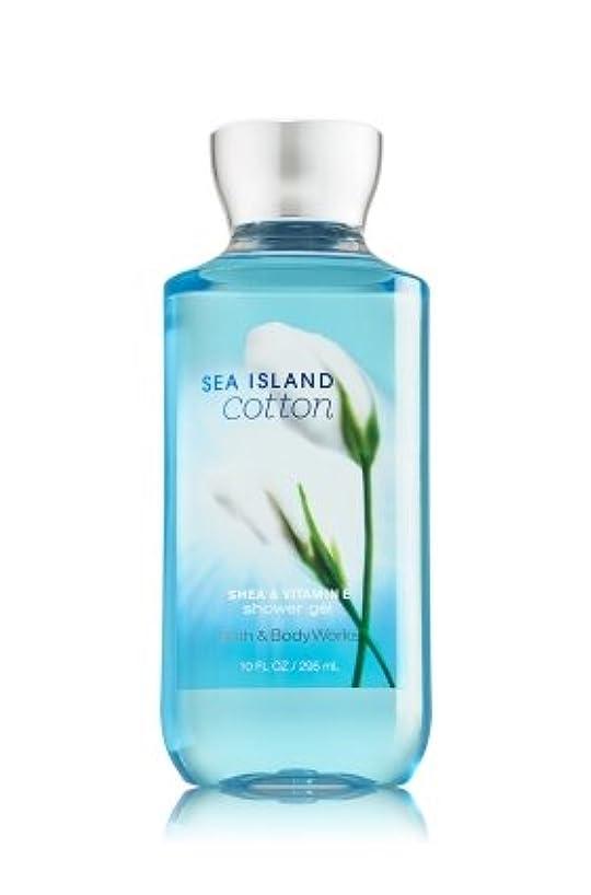 ベルベット正確なラオス人Bath & Body Works  シャワージェル-Sea Island Cotton*???????? ????【並行輸入品】