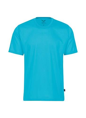 Trigema Mädchen 236202 T-Shirt, Azur, 152