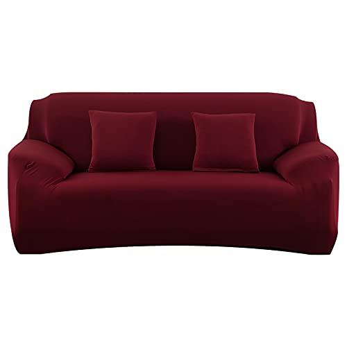 WXQY Funda de sofá elástica,Funda de sofá Modular,Sala de Estar sillón en Forma de L Funda de sofá Antideslizante Envuelto herméticamente A13 1 Plaza
