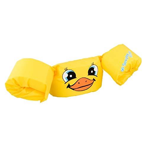 Sevylor Schwimmflügel Puddle Jumper/ Schwimmscheiben, für Kinder und Kleinkinder von 2-6 Jahre, 15-30 kg, gelb (ente)