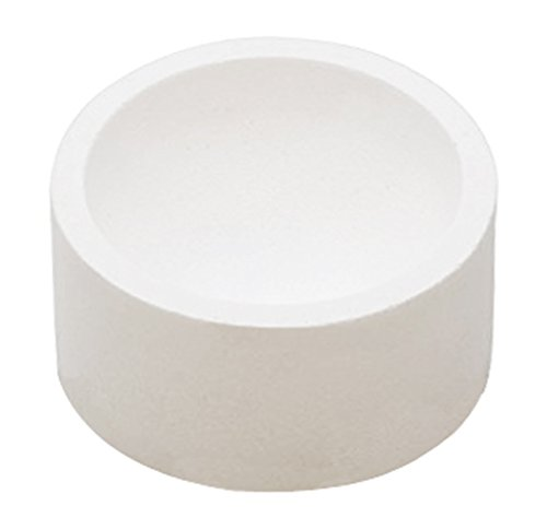 8 Oz High Temperature Ceramic-Fused Silica Crucible Dish Cup Melt Cast Refine Platinum Scrap Metal Jewelry