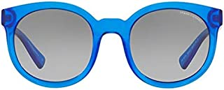 b7a6876f6 Armani Exchange AX4057SL 821011 Azul Transparente Lente Cinza Degradê Tam 53