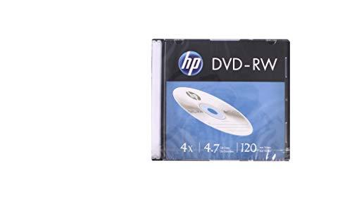 DVD-RW HP Regrávavel SLIM c/1 unidade, CIS, 46.3022, Prata