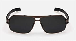 Square Sunglasses For Men, Brown