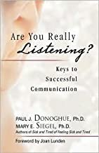 Are You Really Listening? Publisher: Sorin Books