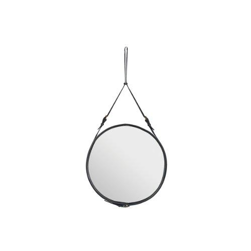 GUBI - Adnet Spiegel Ø 45 cm, schwarz
