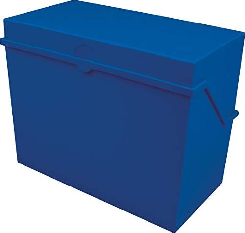 Helit–Schedario, formato A5orizzontale, colore blu