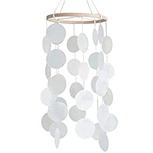 Baby Crib Mobiles Seashell for Children Boys Girls Babies Bed Room Designer Ceiling Nursery Delight Wind Chimes