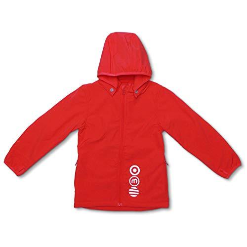 MINYMO Softshell Jacke für Mädchen und Jungen (Koralle, 98)