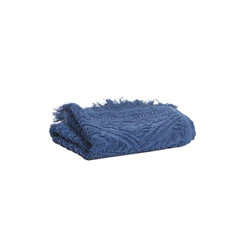 Vivaraise - Drap de Bain Zoé – 100x180 cm – Serviette de Plage, Spa, Piscine, hammam – Tissu éponge 100% Coton Absorbant – Motif Jacquard