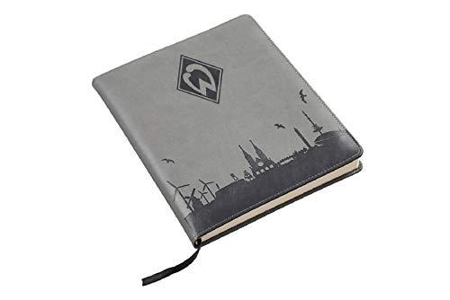 SV Werder Bremen Notizbuch -Skyline- Tagebuch, Notizblock, Buch - Plus Lesezeichen I Love Bremen