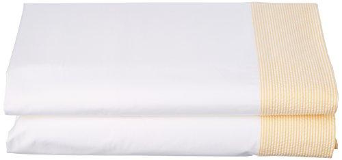 ESSIX Drap de lit, Coton, Jonquille, 180x290 cm