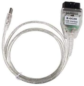ULTRAOBD2 INPA d Can Kabel Codierung Kabel K+ CAN Ediabas Kabel mit Schalter DCAN Interface Coding Unterstützung E Serials Interface für BMW R56 E87 E93 E70