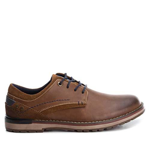 XTI Zapato Oxford BAS033836 para Hombre Marrón 45
