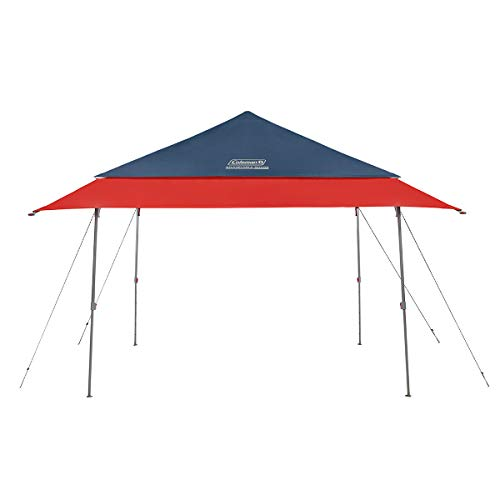 Coleman Expandable Shade Shelter | Adjustable Canopy Tent | UPF 50+ Sun Protection | 10 x 10 Feet | Slate