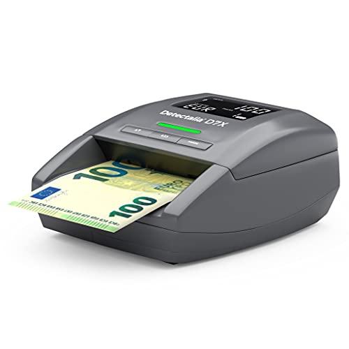 Detectalia D7X - Détecteur de faux billets EUR, GBP, CHF, SE