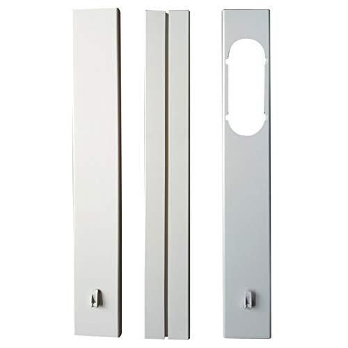 coil.c 3 Fenster Adapter Fenster Kit Platte,Fensterabdichtung Dichtungsset Für Schiebefenster, PVC-Klemmschiene, Für Tragbare Klimaanlage -Fensteradapter Für Tragbare Klimaanlage