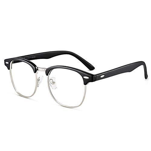 Cyxus Óculos de Luz Azul Óculos de Computador Lentes Transparentes Anti-Fadiga Ocular para Homens e Feminino Com bloqueio de UV