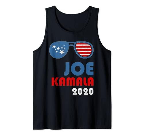 Joe Biden, Kamala Harris 2020 Estrellas y Rayas Sombras Camiseta sin Mangas