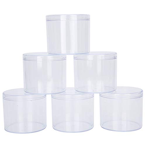 Wosune Recipiente de Almacenamiento de Dulces, Material plástico PS Fácil de Usar Fácil de Transportar Cómodo de Usar Caja de Dulces Regalo para Bodas para Dulces