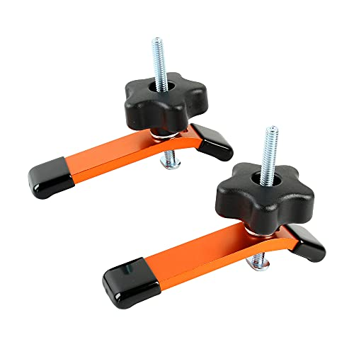 """O'skool 2 Pack Hold Down Clamps Kit, 5-1/2"""" L x 1-1/8"""" Width T-Track CNC Router Clamp"""