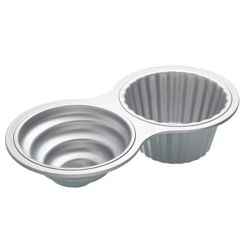 Kitchen Craft XXL Cupcake-Backform aus Metall Größr: 40 x 20 x 9,5 cm
