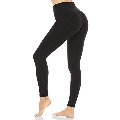 GUIFIER Pantalones de Yoga con Bolsillos,Yoga Leggings de Cintura Alta para Mujer, Pantalón Deportivo de Mujer,Pantalones de Deporte,Leggins de Yoga para Fitness Estiramiento Yoga y Pilates(S)