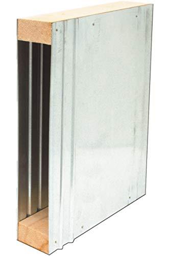 Schellenberg 12400 Mauerkasten MAXI für Einlasswickler und elektrische Gurtwickler, Lochabstand 21,5 cm