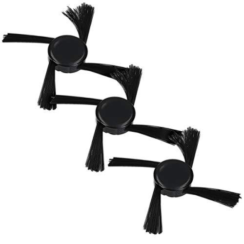 kwmobile Set de 3 cepillos Laterales de Repuesto compatibles con Neato Botvac - Serie D5/D6/D7 - Recambios de escobilla Lateral para Robot Aspirador