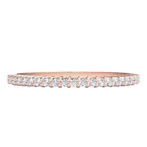 Helzberg Diamonds 10K White Gold 1/7 cttw Diamond (I-J Color, I2-I3 Clarity) Band, Size 7