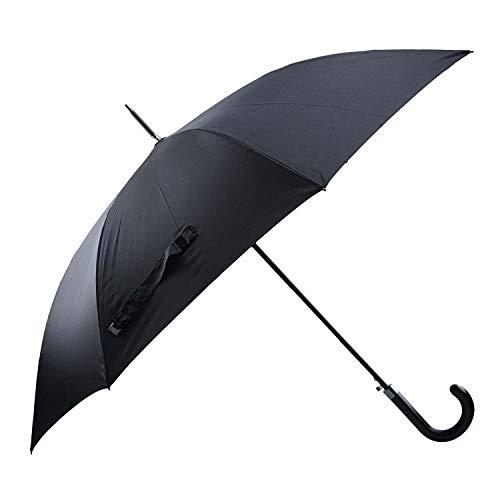 Paraguas Automático Largo para Hombre Talla: U Color: Negro