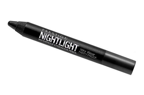 Prestige Nightlight Waterproof Eye Shadow Pencil PPE-01 Black Pearl