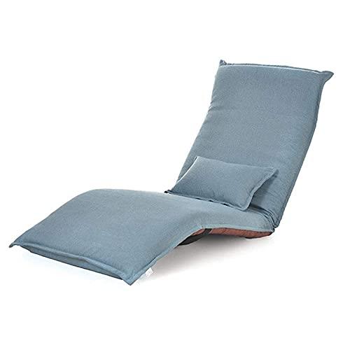 Verstellbarer Bodenstuhl, Lazy Sofa Chair Individueller Klappboden Liegebett Verstellbarer Computerstuhl Klappbar