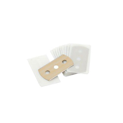 Ersatz-Klinge für Keramik-Kochfeldreinigung, 10 Stück