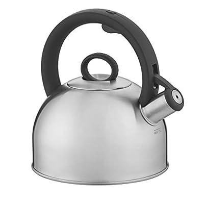 Cuisinart Aura, Silver Stainless Steel Stovetop Tea Kettle, 2 Qt,CTK-SS17N by Cuisinart