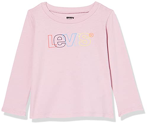 Levi's Kids LvgLongSleeveTee Ensemble de t-Shirt pour BBS et Bambins, Parfum Lilas, 18 Mois Bébé garçon