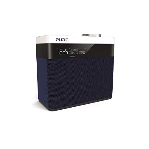 Pure Pop Maxi S radio stereo portatile (DAB/DAB+, Bluetooth, LCD-Display) Navy