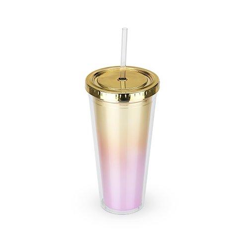 Lista de Vasos de plastico con popote del mes. 6