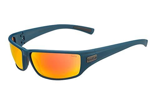 bollé Unisex– Erwachsene Python Sonnenbrillen Medium, Navy Matte