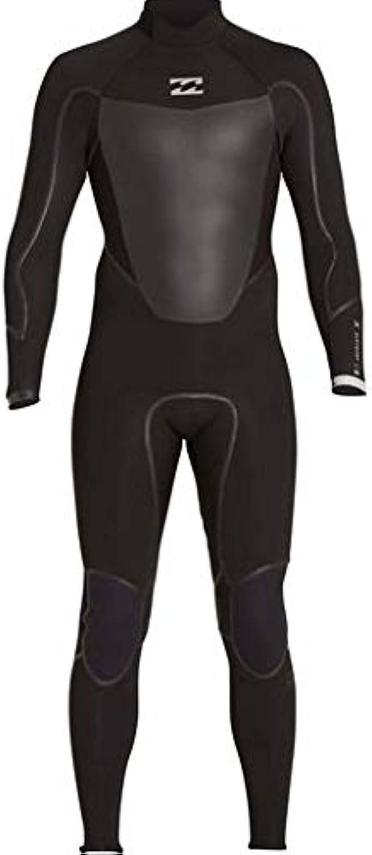 Billabong Men's 4 3 Absolute X Back Zip Fullsuit Black LT